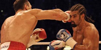 Klitschko campeón AMB, FIB y OMB de los pesos pesados