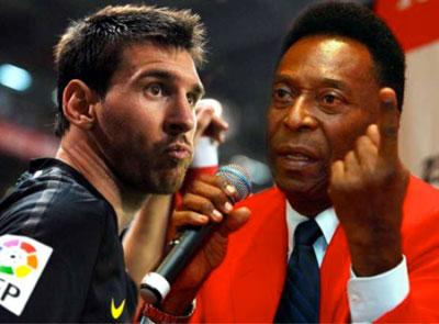 Quién es el mejor del mundo? Pelé invita a Messi a mirar sus videos