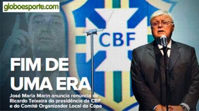 Golpe al Mundial 2014: renunció titular de la federación brasileña