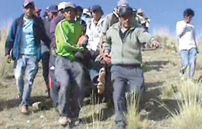 En Perú 3 muertos y 20 heridos en protesta contra proyecto minero