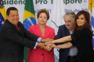 Venezuela hace su debut en Mercosur