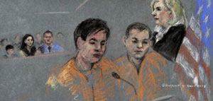 Amigos del autor atentado de Boston se declaran no culpables de conspiración