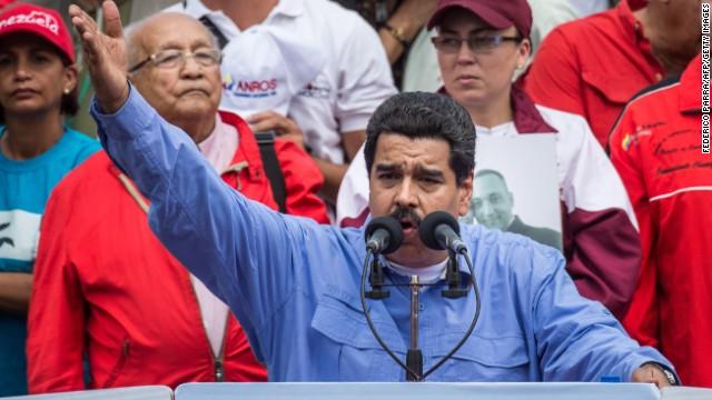 Maduro lanza advertencia contra los expresidentes Piñera, Pastrana y Calderón