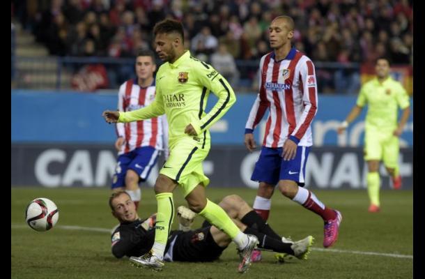 Barcelona derrotó 3-2 a Atlético de Madrid y avanzó en la Copa del Rey