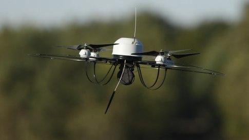 Encuentran un drone en el jardín de la Casa Blanca