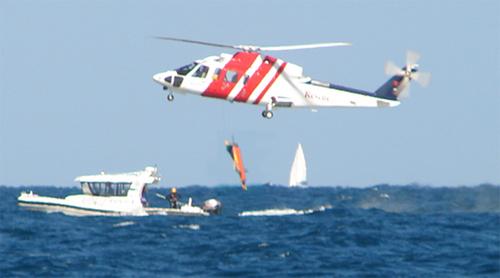 Un barco con más de 300 inmigrantes se está hundiendo en el Mediterráneo