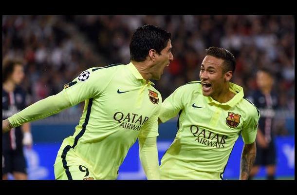 Barcelona da un paso a semifinales con doblete de Luis Suárez