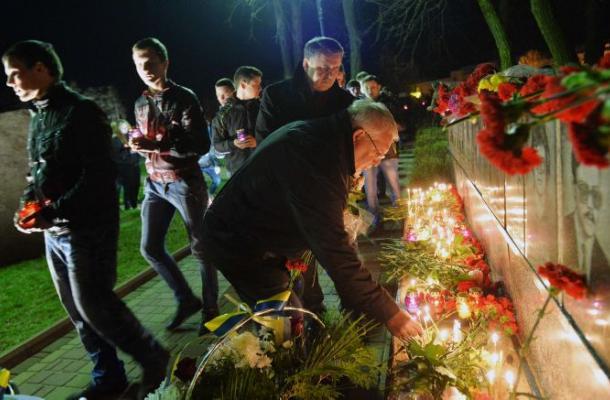 Ucrania conmemora el aniversario 29 de la catástrofe nuclear de Chernobil