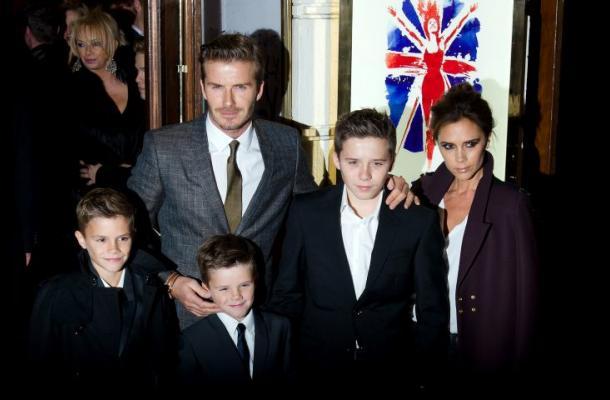David Beckham le da una lección a su hijo en Instagram