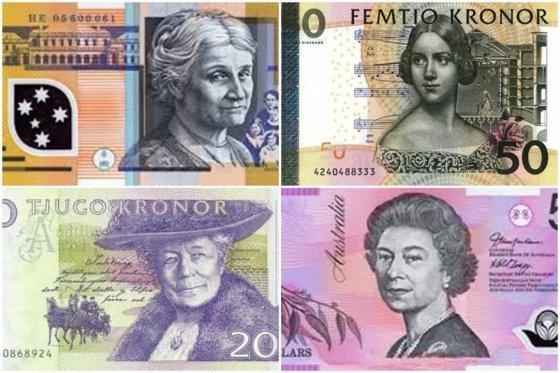 Mujeres ganan espacio en los billetes