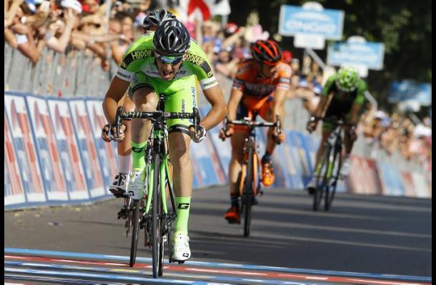 Italiano Nicola Boem ganó la décima etapa del Giro de Italia