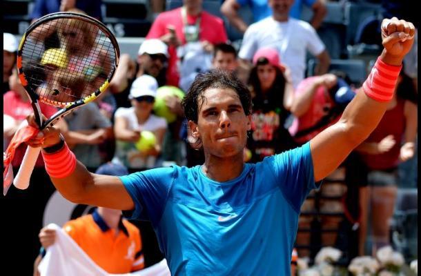 Rafael Nadal y Roger Federer pasaron a cuartos en el ATP de Roma