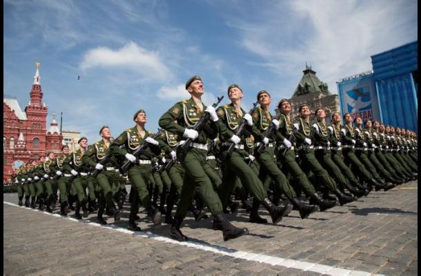 Rusia conmemora la victoria contra el nazismo en la II Guerra Mundial