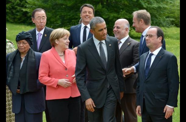 El G7 muestra su firmeza ante Moscú y su unidad frente al terrorismo