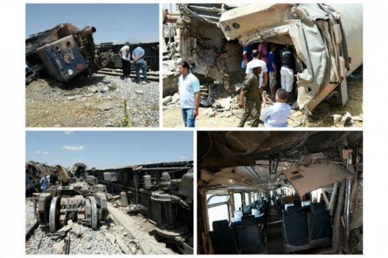Al menos 18 muertos y 100 heridos en choque entre tren y camión en Túnez