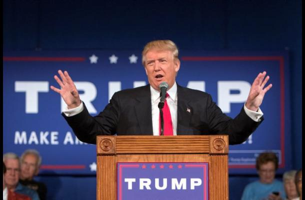 Donald Trump visita la frontera EEUU-México