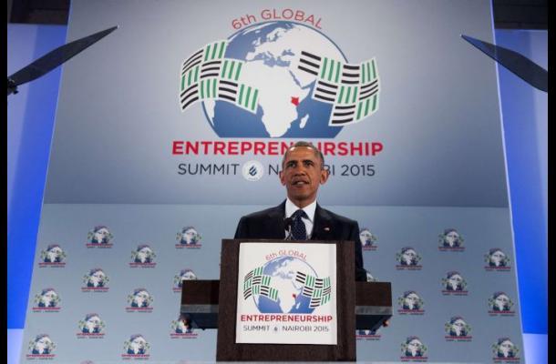 Obama arranca en Kenia con elogios a una África «en marcha»