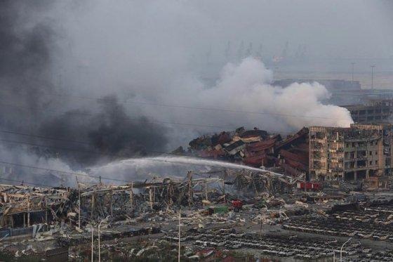Aumentan a 150 los muertos por las explosiones de Tianjin