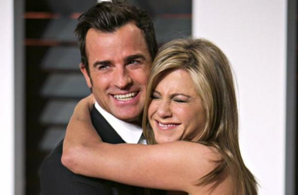 En una boda sorpresa se casaron Jennifer Aniston y Justin Theroux