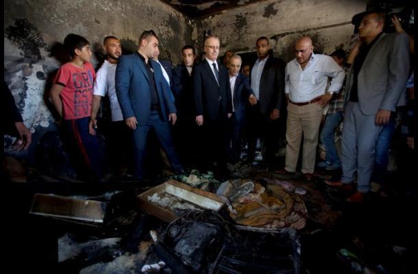 Un bebé palestino muere quemado en un ataque de colonos israelíes