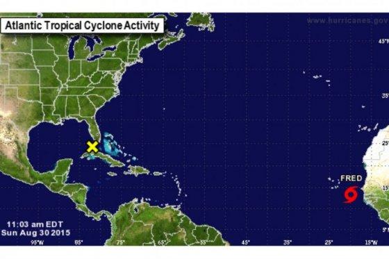 Se forma Fred, la sexta tormenta tropical en el Atlántico