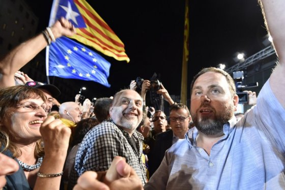 Nacionalistas ganan las elecciones en Cataluña