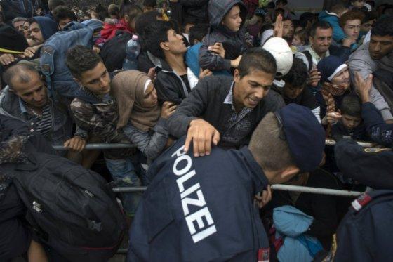 Manifestaciones por toda Europa en defensa de los refugiados