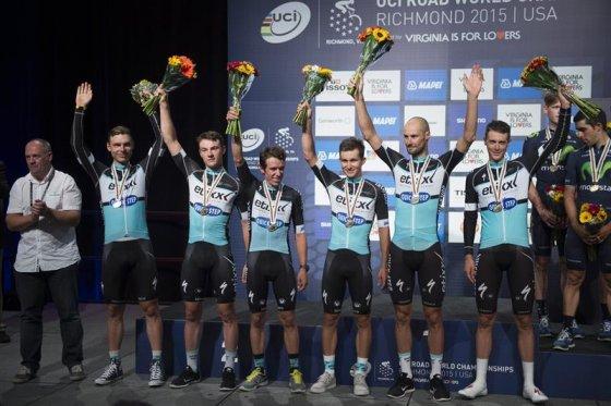 Rigoberto Urán, plata en el Mundial de Ciclismo con el Etixx