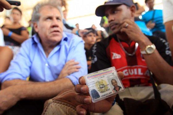 Críticas a secretario de la OEA por su visita a Cúcuta