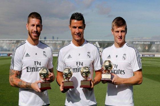 Real Madrid ganó premio al mejor club de 2014