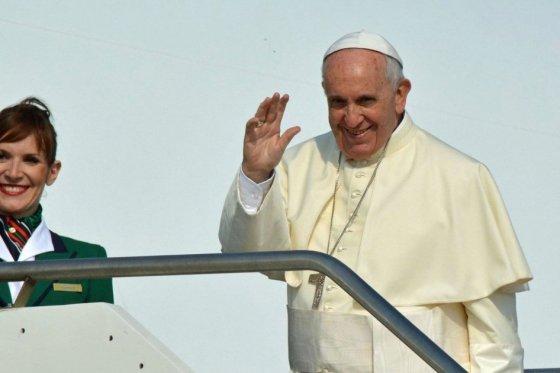 Papa Francisco ya está en Cuba