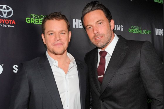 Matt Damon no teme al fracaso tras resurgir de Ben Affleck
