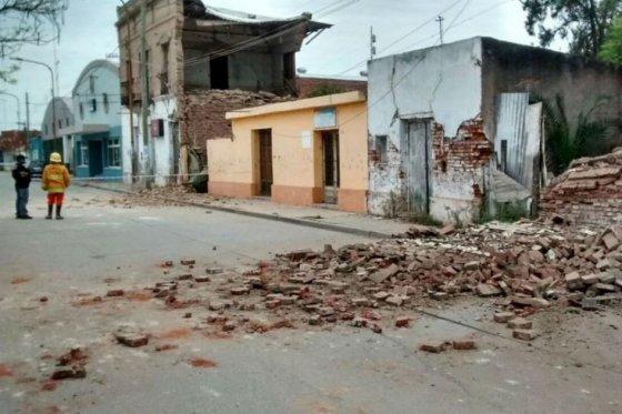Un muerto y 30 heridos por terremoto en el norte de Argentina