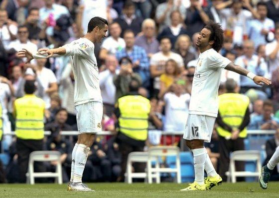 Real Madrid goleó a Levante y es líder provisional