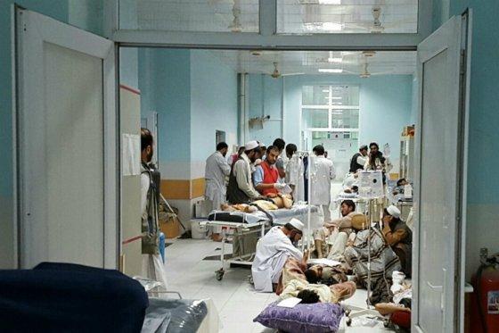 Bombardean hospital de Médicos Sin Fronteras en Afganistán
