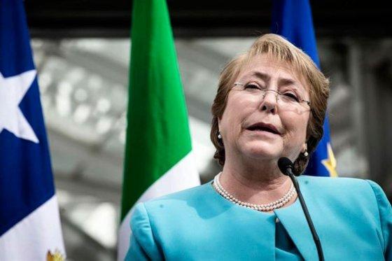 Bachelet dice que ha hecho «cambios de magnitud histórica» en Chile