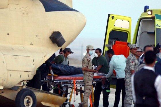 Recuperan 129 cadáveres de las víctimas del incidente de avión ruso en Egipto