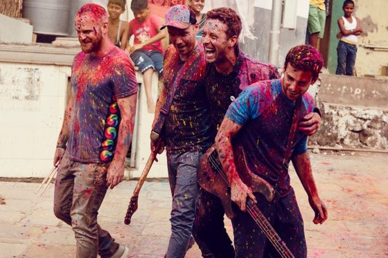 Coldplay estrena la canción «Adventure of a lifetime»
