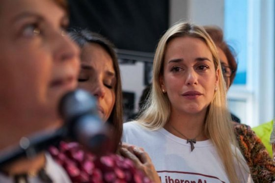 Esposa de Leopoldo López rechaza la protección ofrecida por el Gobierno de Maduro