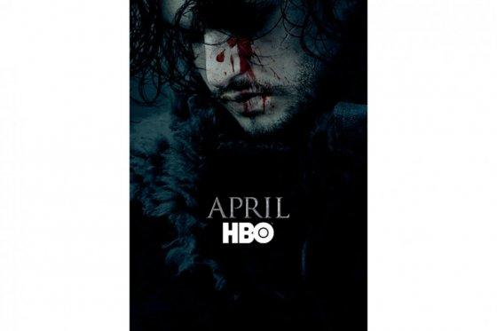 «Juego de tronos» revive a Jon Snow en afiche de sexta temporada