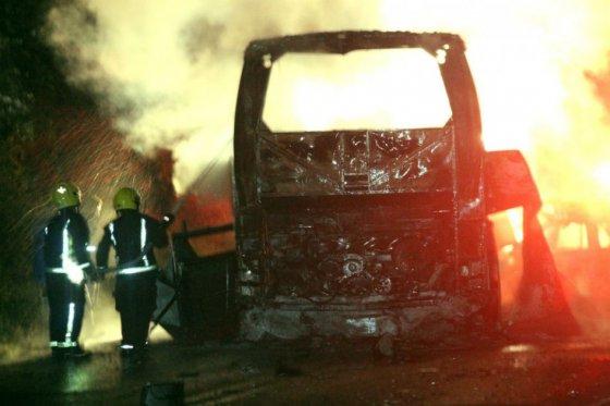 Choque entre bus y vehículo particular en México deja al menos 23 muertos