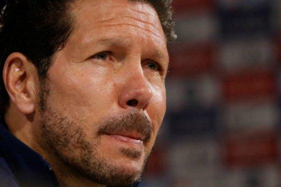"""""""Nadie puede sentirse más importante que el club"""": Diego Simeone"""