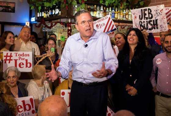 Jeb Bush no renunciará a su candidatura presidencial pese a los resultados de las encuestas