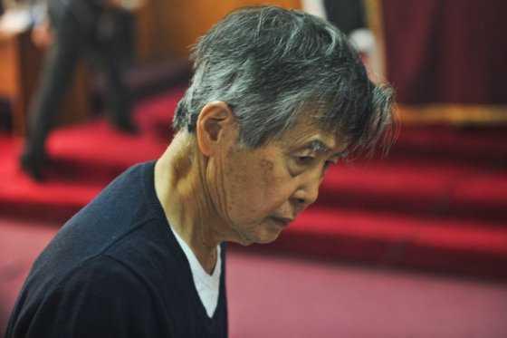 Hospitalizan al expresidente peruano Fujimori