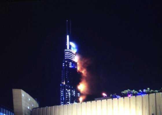 Dubái extingue por completo el fuego en el hotel e investiga sus causas