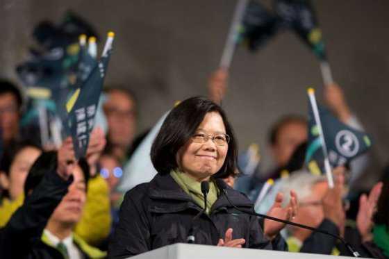 Taiwán elige por primera vez a una mujer como presidenta