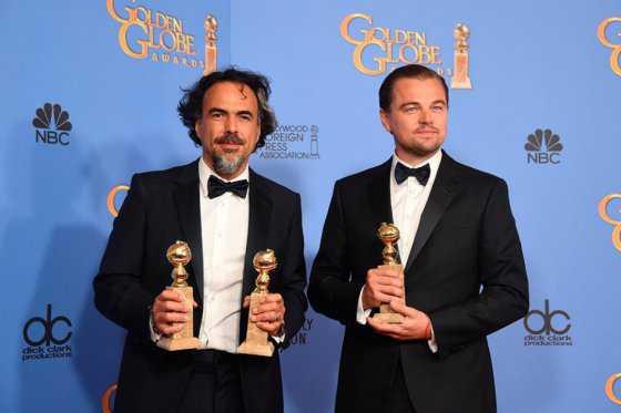 «El Renacido», del mexicano Alejandro González Iñárritu, Globo de Oro a mejor película
