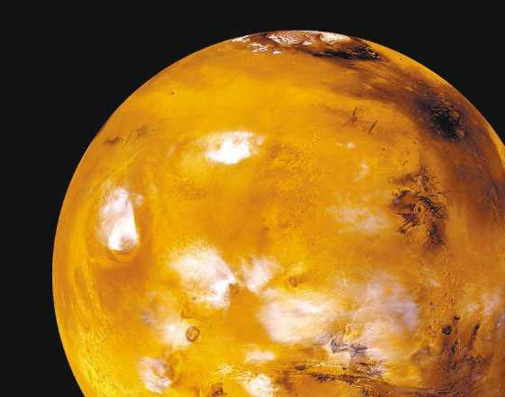 El viaje de la Nasa a Marte