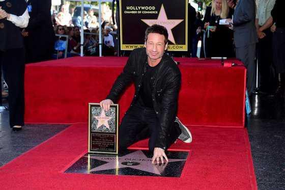 David Duchovny tiene estrella en Paseo de la Fama gracias a «The X-Files»