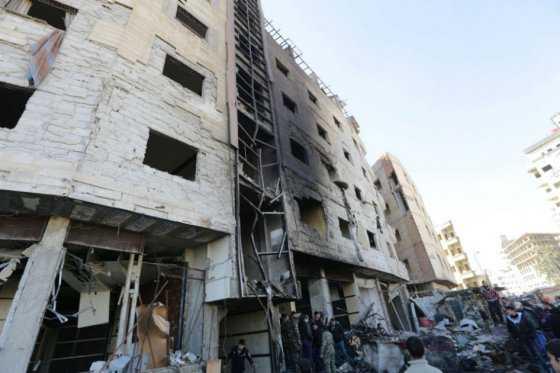 Al menos 50 muertos deja atentado del EI es Damasco